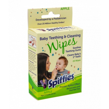 Spiffies Baby Toothwipes