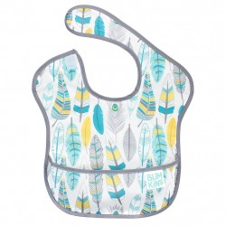 Bumkins Super Bib 1pc - Feathers