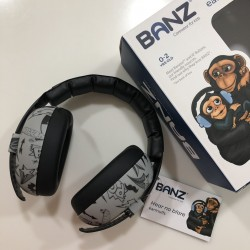 Banz Earmuffs for Babies - Graffiti