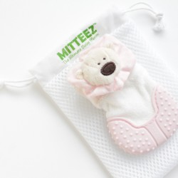 Mitteez Organic Developmental Teething Mitten & Keepsake