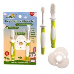 Tiny Buds First Toothbrush Set