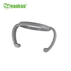 Haakaa Gen 3 Silicone Bottle Handle - Grey