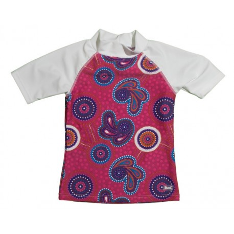 Banz Dandaloo Short Sleeved Rash Tops (For Older Kids)