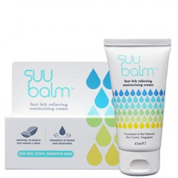Suu Balm™ Dual Rapid Itch Relieving & Restoring Moisturiser - 45ml