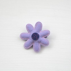 Celestina and Co. Felt Lilac Hair Clip