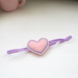 Celestina and Co. Felt Heart Headband
