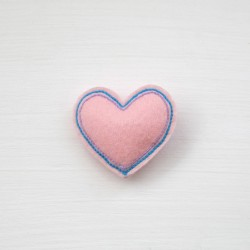 Celestina and Co. Felt Heart Hair Clip