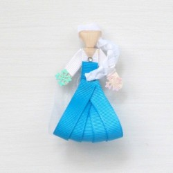 Celestina and Co. Elsa Inspired Sculptured Bow