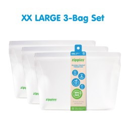 Zippies Reusable Stand Up Storage Bags - XXLarge