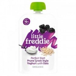 Little Freddie Perfect Start Creamy Prune Greek Style Yoghurt with Oats 100g