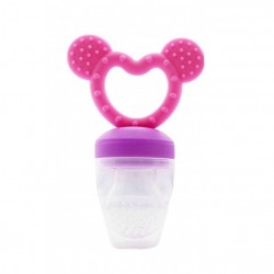 Haakaa Fresh Food Feeder and Teether - Pink