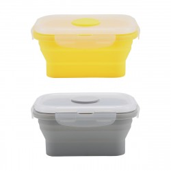 2 Pack Silicone Food Storage Containers