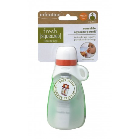 INFANTINO Reusable Squeeze Pouch