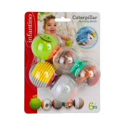 Infantino Caterpillar Activity Balls