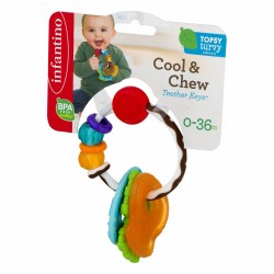 Infantino Cool & Chew Teether Keys