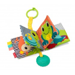 Infantino Link & Squeak Animal Crinkle Book