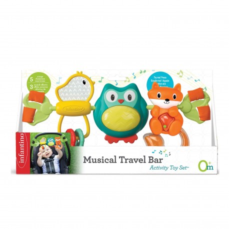 Infantino Musical Travel Bar Activity Toy