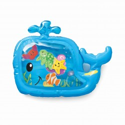 Infantino Pat & Play Water Mat - Blue Whale