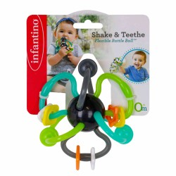 Infantino Shake & Teethe Flexible Rattle Ball