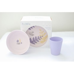 Toddle London Bamboo Dinnerware Set
