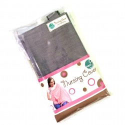 Next9 Nursing Covers - Grey with Lines