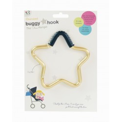 BuggyGear Star Hook Bag Hanger - Leather Accent