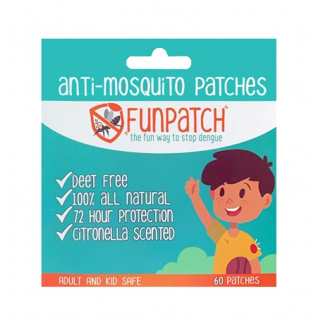 FunPatch Anti Mosquito Patches - 60s