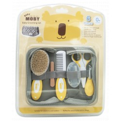 Moby Grooming Kit with Portable Case