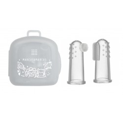Marcus & Marcus Toothbrush & Gum Massager Set
