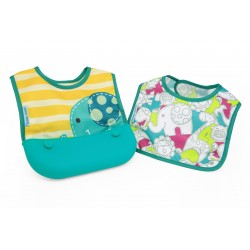 MARCUS & MARCUS TRAVEL BIB SET (2PC)