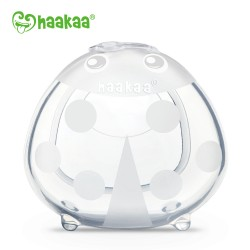 Haakaa Ladybug Silicone Breast Milk Collector - 75ml/SMALL (1PC)
