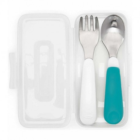 Oxo Tot On the Go Fork and Spoon Set