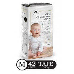Applecrumby Premium Tape Diapers - MEDIUM