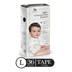 Applecrumby Premium Tape Diapers - LARGE