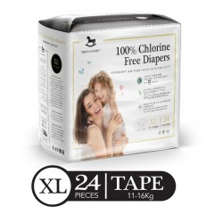 Applecrumby Premium Tape Diapers - X Large