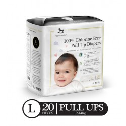 Applecrumby Premium Pull-Up Diapers - LARGE