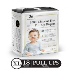 Applecrumby Premium Pull-Up Diapers - X LARGE