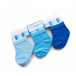 Pitcheco in 3 in 1 boys socks - newborn