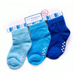 Pitcheco 3 in 1 socks w/ rubber - plus size