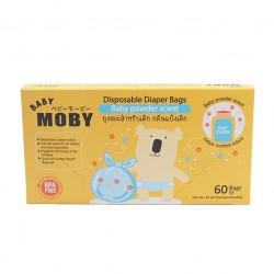 Moby Disposable Diaper Bags -60 Bags