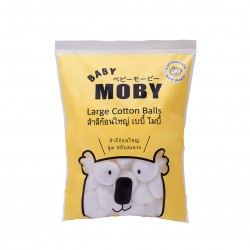 Baby Moby Jumbo Cotton Balls - 100 grams