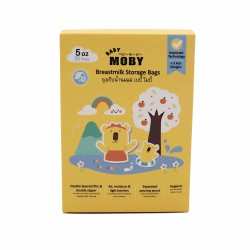 Moby Breastmilk Bags - 5oz (30pcs)