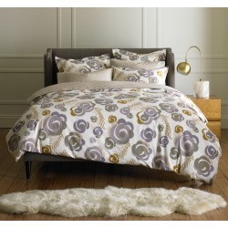 DWELLSTUDIO QUEEN DUVET SET - DECO FLORAL HAZE