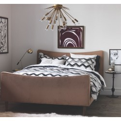 DWELLSTUDIO DUVET SET - PAINTED CHEVRON