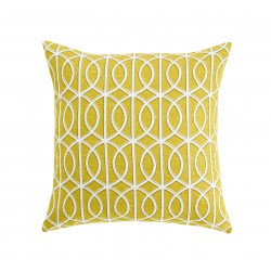 DwellStudio Decorative Pillow - Gate in Citrine