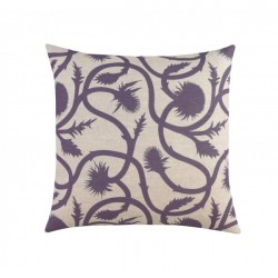 DwellStudio Decorative Pillow - Thistle in Amethyst