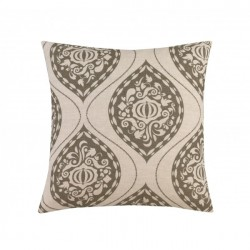DwellStudio Decorative Pillow - Ogee in Ash