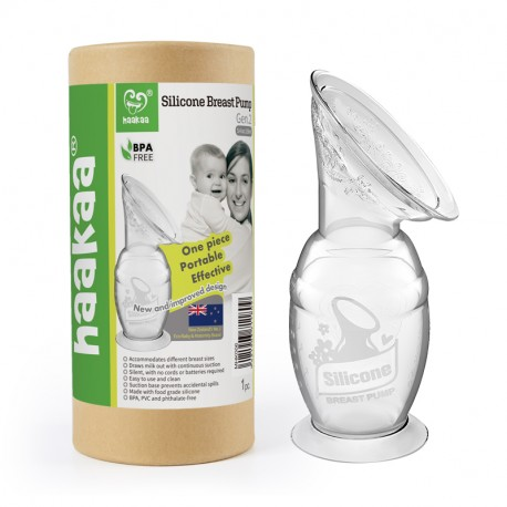 Haakaa Gen 2.1 Silicone Breast Pump 100ml (No Lid Included)
