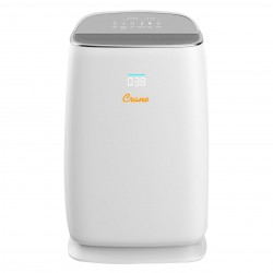 Crane True HEPA Smart Air Purifier w/ UV