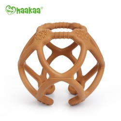 Silicone Teething Ball - Rust